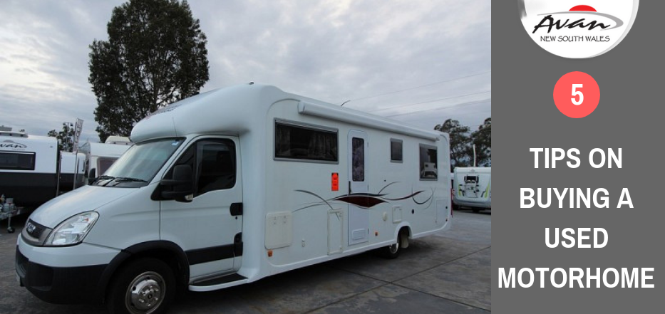 Tips on Buying a Used Motorhomes